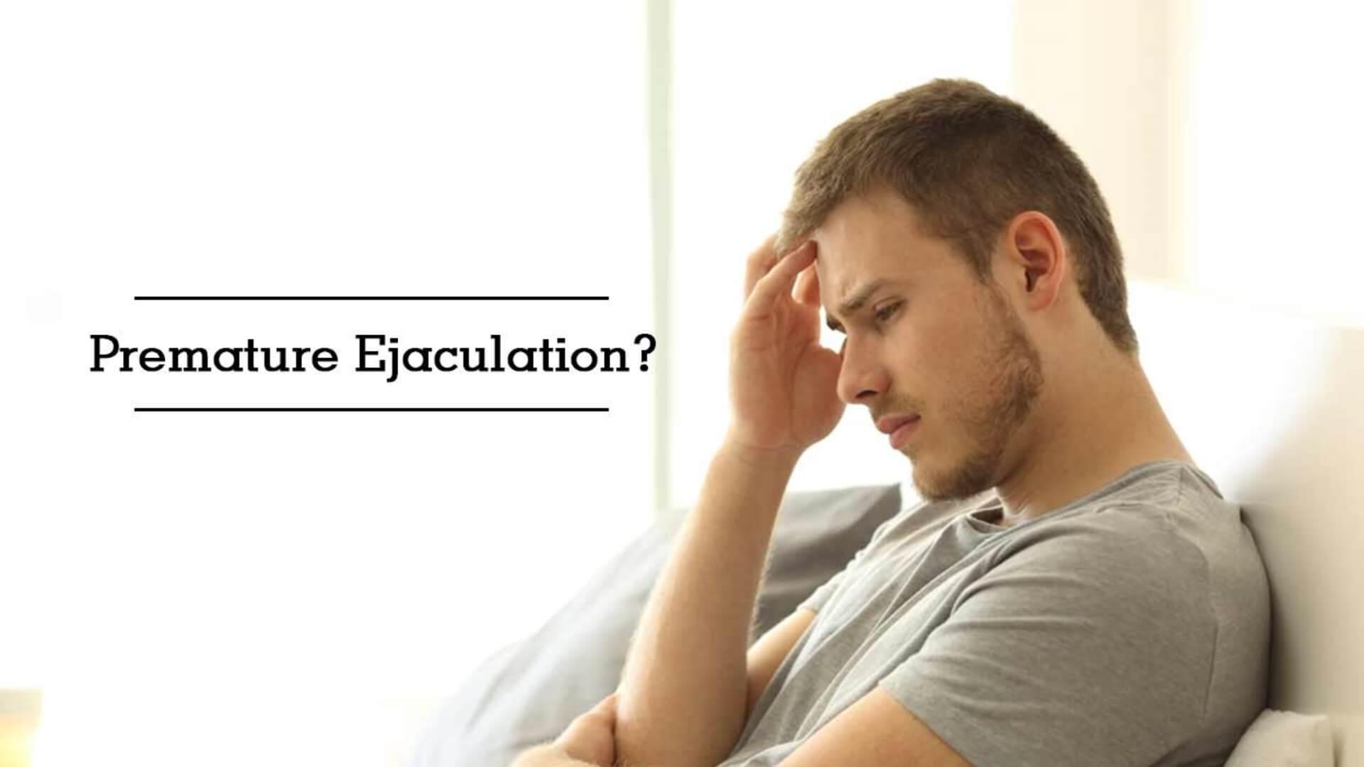 comment traiter l'éjaculation prématurée