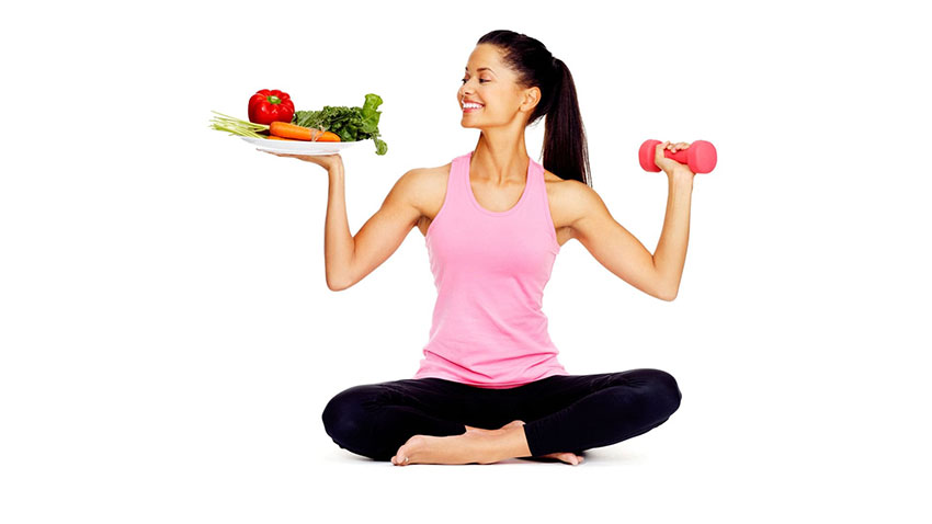 femme heureuse avec un bon corps