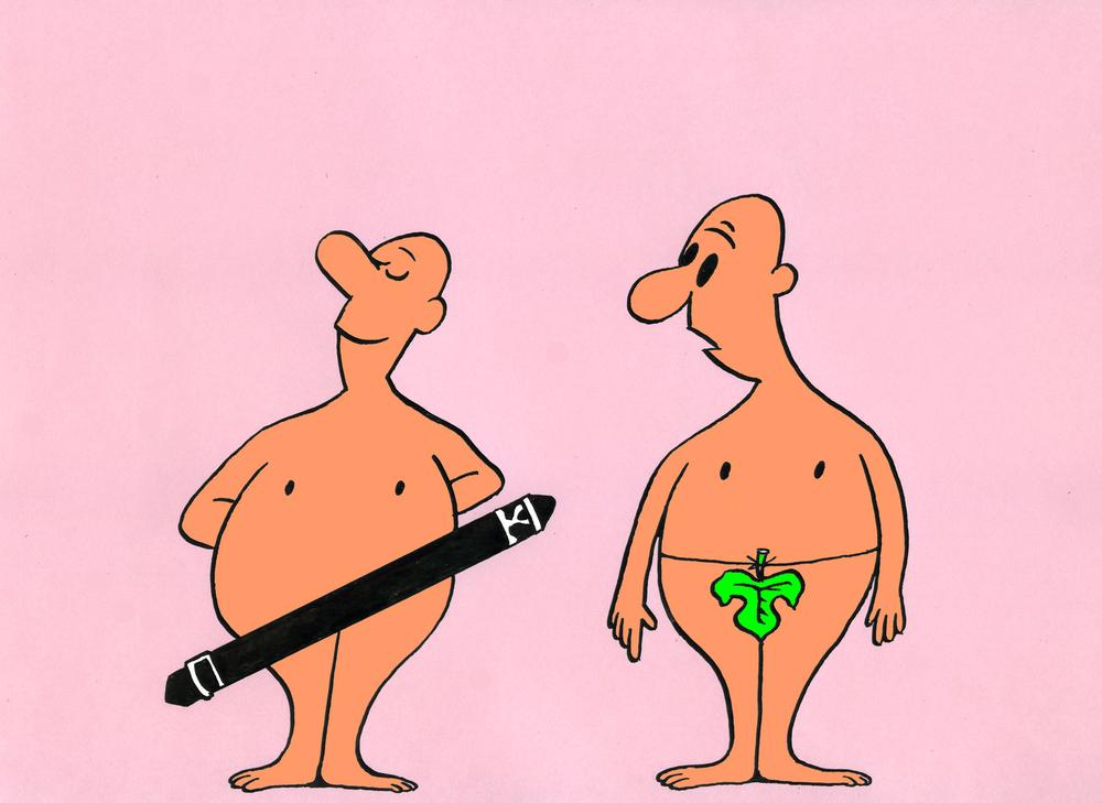 caricature envie primitive